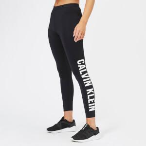 Calvin Klein Performance Women's 7/8 Logo Leg Tights - CK Black