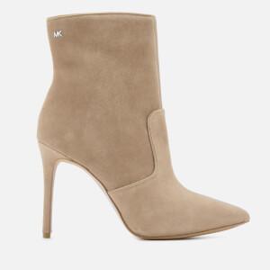 MICHAEL MICHAEL KORS Women's Blaine Heeled Ankle Boots - Dark Dune