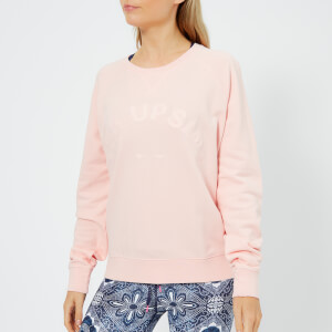 The Upside Women's Bondi Crew Neck Sweatshirt - Rose Quartz