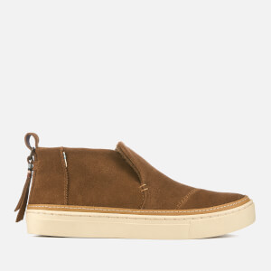 TOMS Women's Paxton Suede Mid Slip On Trainers - Dark Amber
