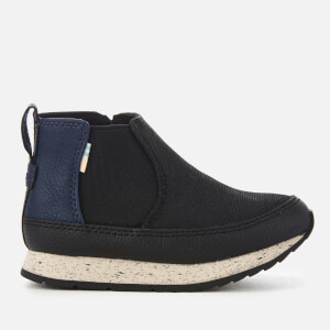 TOMS Toddlers' Sydney Canvas High Top Trainers - Black
