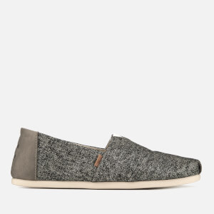 TOMS Men's Birch Technical Knit Alpargata Espadrilles - Light Grey