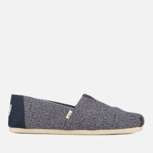 TOMS Women's Terry Cloth Alpargata Pumps - Navy