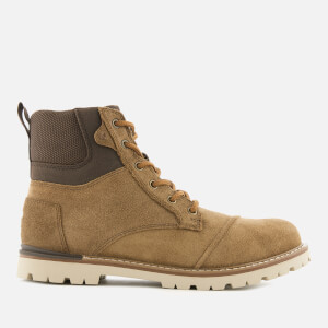 TOMS Men's Ashland Waterproof Suede Hiker Boots - Twig