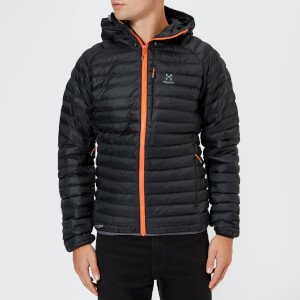 Haglofs Men's Essens Mimic Hooded Jacket - Magnetite