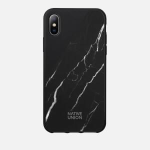 Native Union Clic Marble Metal iPhone X - Black