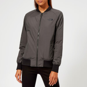 The North Face Women's Insulated Bomber Jacket - TNF Dark Grey Heather
