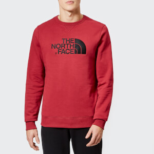 The North Face Men's Drew Peak Crew Neck Sweatshirt - Rumba Red