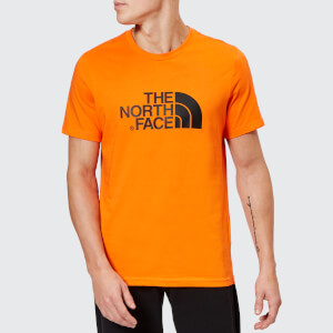 The North Face Men's Short Sleeve Easy T-Shirt - Persian Orange
