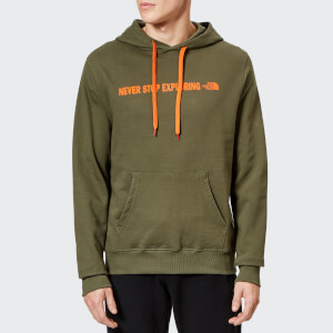 The North Face Men's Open Gate Pullover Hoodie - New Taupe Green
