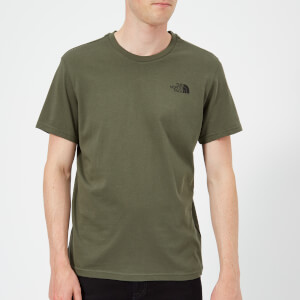 The North Face Men's Short Sleeve Simple Dome T-Shirt - New Taupe Green