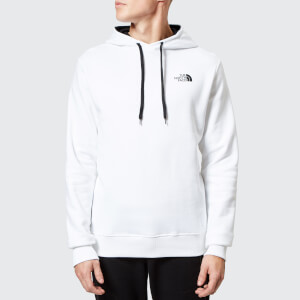 The North Face Men's Seasonal Drew Peak Pullover Hoodie - TNF White/TNF Black