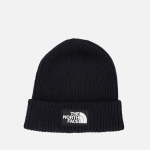 The North Face Men's Logo Box Cuffed Beanie Hat - Urban Navy