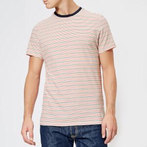 Jack Wills Men's Rodwell Stripe T-Shirt - Red