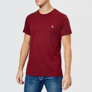 Jack Wills Men's Sandleford Crew T-Shirt - Damson