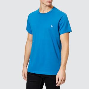 Jack Wills Men's Sandleford Crew T-Shirt - Marine