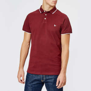 Jack Wills Men's New Classic Polo Shirt - Damson