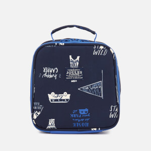 Joules Boys' Junior Munch Lunch Bag - Navy Happy Camper