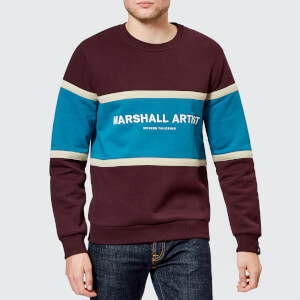 Marshall Artist Men's Crown Heights Sweatshirt - Burgundy