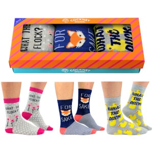 Cockney Spaniel Women's Novelty Socks Gift Box