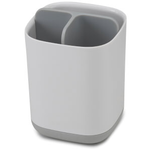 Joseph Joseph Easy-Store Toothbrush Caddy - White/Grey