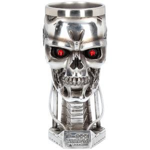 Terminator2 – Verre en forme de tête