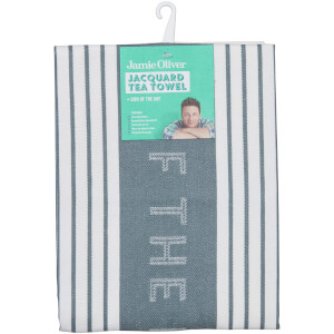 Jamie Oliver Speckle 'Dish of the Day' Tea Towel - Storm Grey