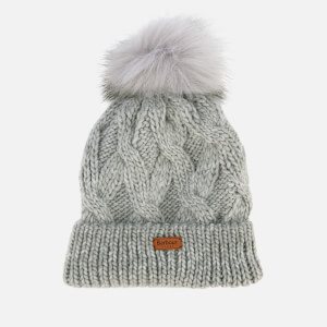 Barbour Women's Bridport Pom Beanie - Grey