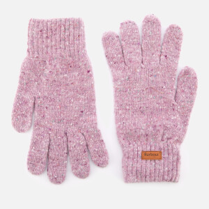 Barbour Women's Donegal Knitted Gloves - Lilac