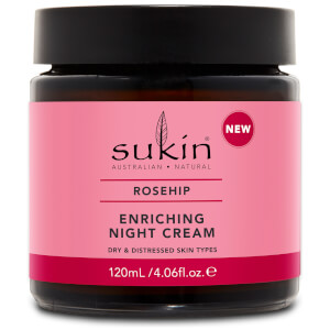 Sukin Rosehip Enriching Night Cream krem na noc 120 ml