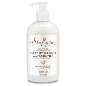 Увлажняющий кондиционер Shea Moisture 100 % Virgin Coconut Oil Daily Hydration Conditioner 384 мл
