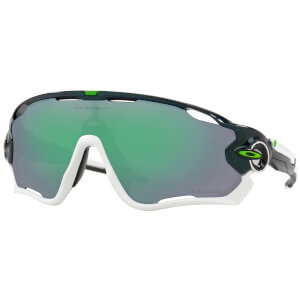 Oakley Jawbreaker Cavendish Edition Sunglasses - Metallic Green/Prizm Jade