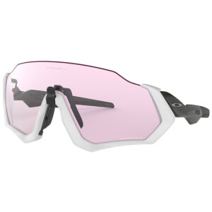 Oakley Flight Jacket Sonnenbrille- Carbon/Prizm Low Light
