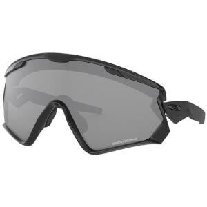 Oakley Wind Jacket 2.0 Sonnenbrille - Polished Black / Prizm Black