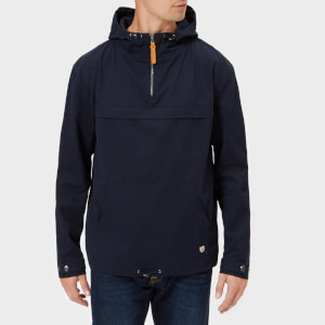 Armor Lux Men's Water Repellent Fisherman's Smock Jacket - Marine Deep