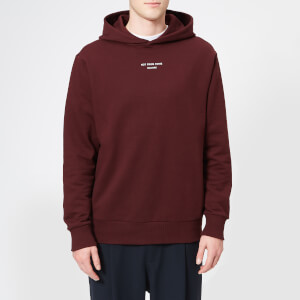 Drôle de Monsieur Men's Not From Paris Madame Hoodie - Burgundy