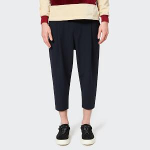 Drôle De Monsieur Men's Cropped Pants - Navy