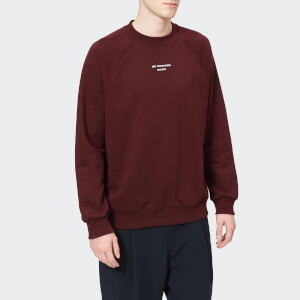 Drôle de Monsieur Men's Raglan Sweatshirt - Burgundy