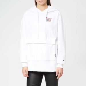 Champion Women's Hooded Sweatshirt - White