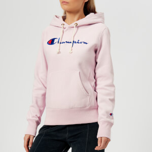 Champion Women's Hooded Sweatshirt - Lilac