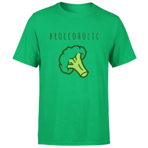 Broccoholic Men's T-Shirt - Kelly Green