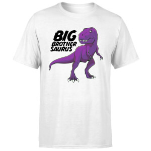Im A Big Brothersaurus Men's T-Shirt - White