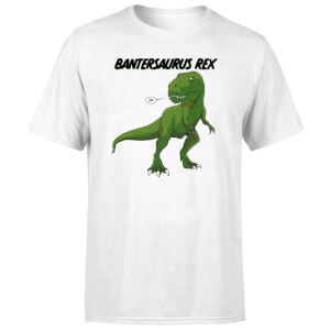 Bantersaurus Rex Men's T-Shirt - White