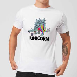 DinoUnicorn Men's T-Shirt - White