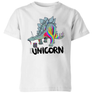 DinoUnicorn Kids' T-Shirt - White