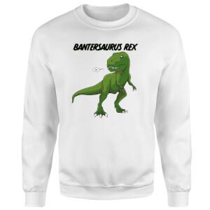 Bantersaurus Rex Sweatshirt - White