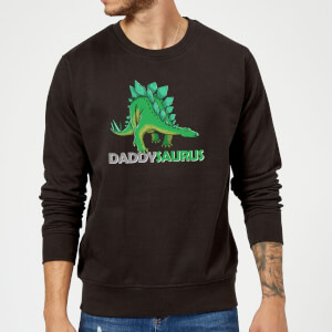 Daddysaurus Sweatshirt - Black