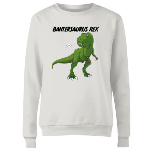 Bantersaurus Rex Women's Sweatshirt - White
