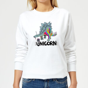 DinoUnicorn Women's Sweatshirt - White