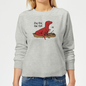 Row Row Row Your Boat Women's Sweatshirt - Grey